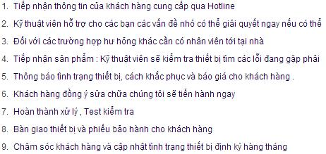 quy trinh sua chua may in uy tin chinh hang cua thu huong